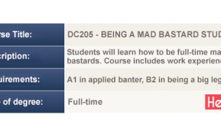 6 exciting new courses have been added to the CAO