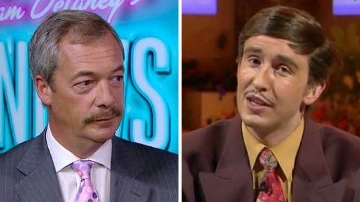 Here's everything Nigel Farage's shit new moustache looks like
