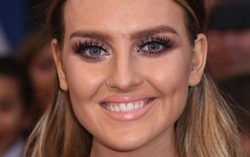 Perrie Edwards shows off a dramatically different look