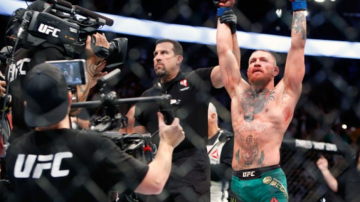Outpouring of praise for Conor McGregor after he defeats Nate Diaz