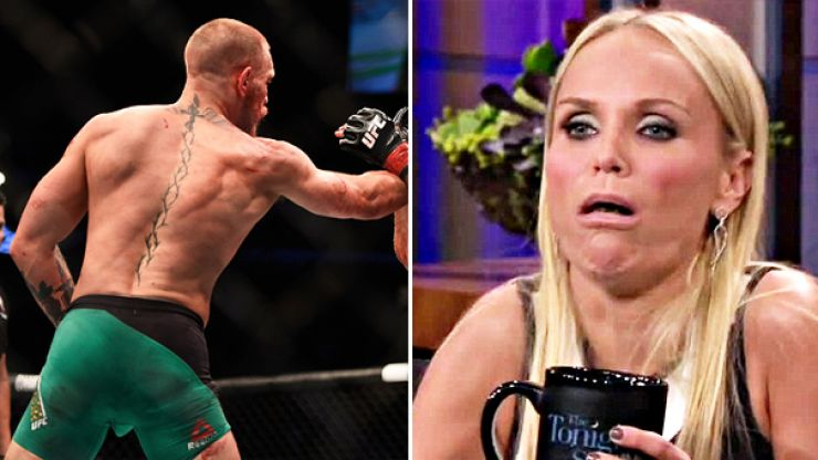 Far too many people think they saw Conor McGregor's penis during his win over Nate Diaz
