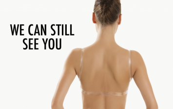 An open letter to clear bra straps