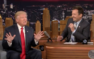 People are raging over Jimmy Fallon's interview with Donald Trump