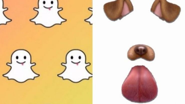 This girl is convinced she has a ghost in her house because of these Snapchat filters