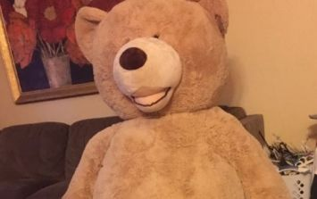 The internet is going mad for the HUGE teddy bought by a grandad for his grandaughter