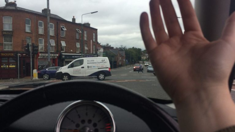 Definitive guide to Irish drivers' hand gestures
