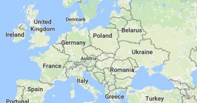 This map highlights best thing to see in each country in europe this map highlights best thing to see in each country in europe sciox Gallery