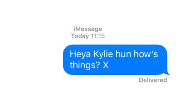 Rob Kardashian leaked Kylie's phone number, so we text her