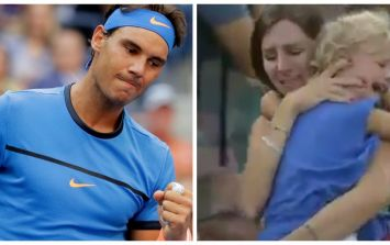 Rafael Nadal stopped a match so a frantic mother could find her lost daughter