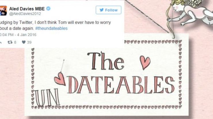 Twitter Is Extremely Thirsty For This Handsome Guy From The Undateables