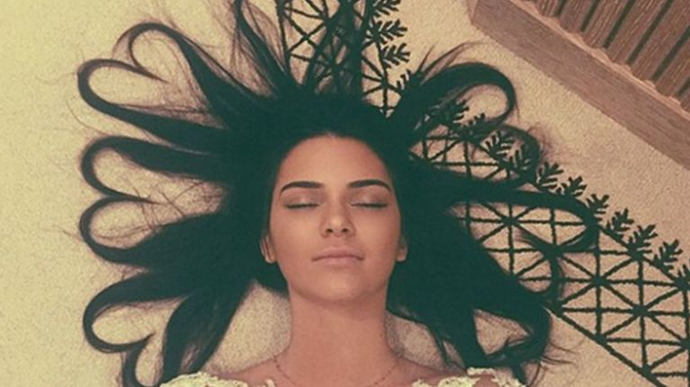 The One Thing You Need To Perfect Kendall Jenner's 'Heart Hair'