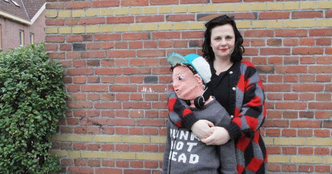 Dutch Woman Knits Life Size Replica Of Her Son Because He Won't Hug Her Anymore
