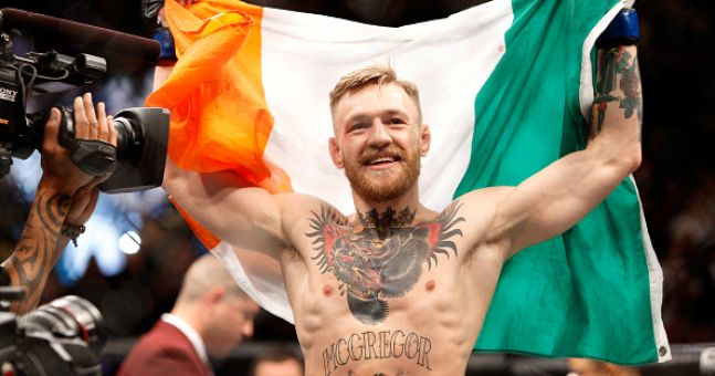Conor McGregor responds to the Irish fan who wrote a song about him