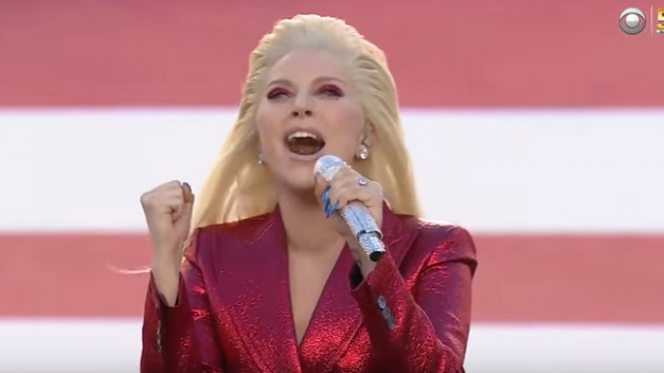 WATCH: Lady Gaga Gave The Performance of A Lifetime Singing The National Anthem At Super Bowl 50