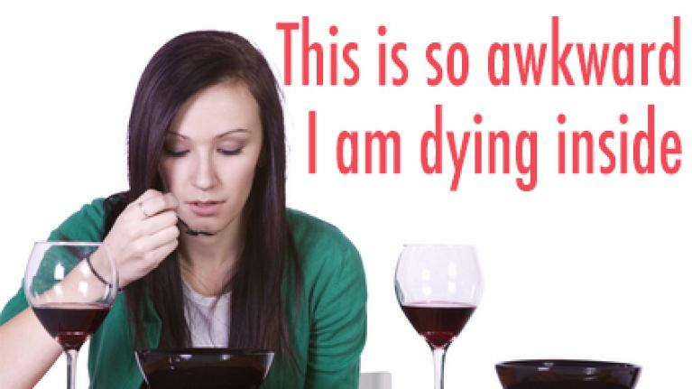 The 5 Emotional Stages Of Eating Alone In A Restaurant