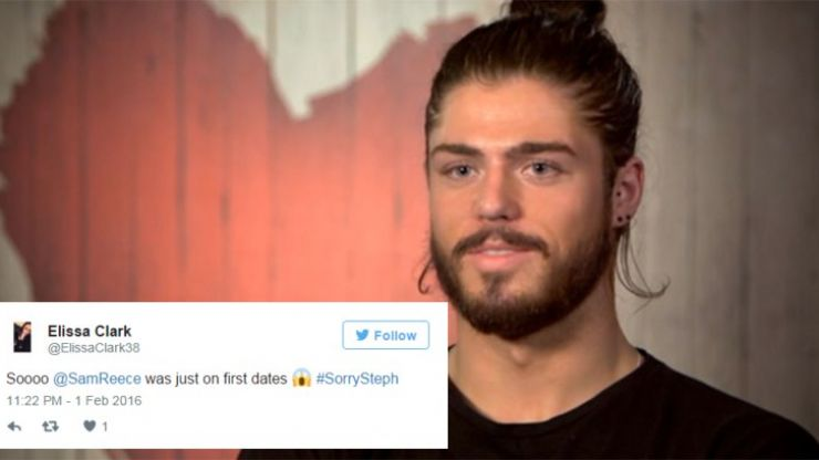 WATCH: Sam Reece Appeared On First Dates And Twitter Is Very Confused