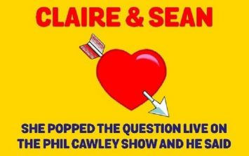 There Was A Live Leap Year Proposal On Today FM This Evening