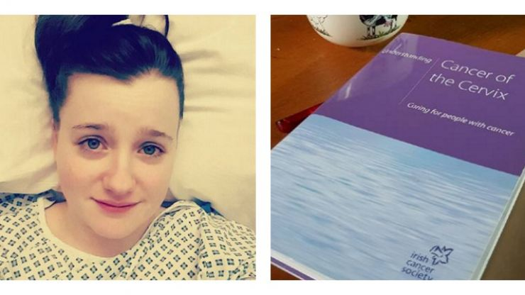 Irish woman diagnosed with cervical cancer at 24 shares symptoms to help raise awareness