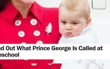 'TIME' Are Taking The Absolute P*SS With This Prince George Headline