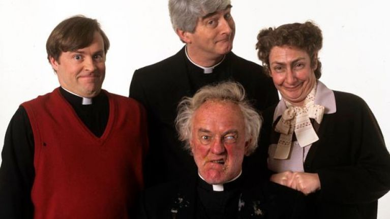 The one thing we never noticed about Father Ted... until now
