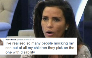 Katie Price Names And Shames The Twitter Trolls Bullying Her Son Harvey