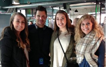 PIC: Nick Lachey Spotted In Dublin Just In Time For Paddy's Day