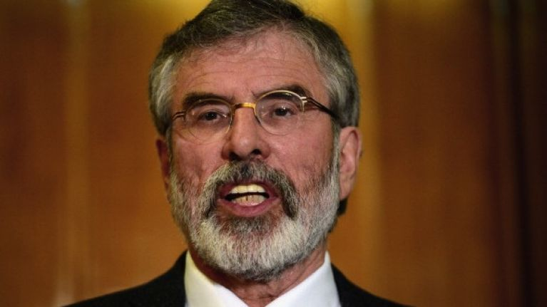 Details Have Emerged Surrounding Gerry Adams' Refused Entry To White House