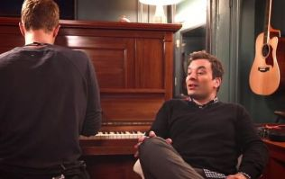 WATCH: Chris Martin And Jimmy Fallon Pay Tribute To David Bowie With A Special Performance