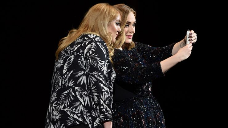 Adele Met Her Lookalike At A Gig And Had To Take A Selfie