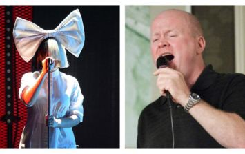 Phil Mitchell sang Sia on the radio because 2016 is weird and amazing at the same time