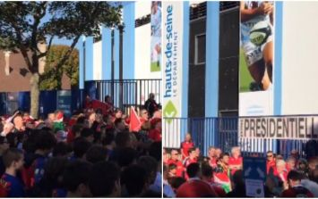 Munster fans sang The Fields of Athenry to remember Anthony Foley