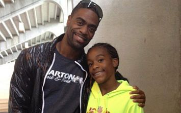 The daughter of Olympic sprinter Tyson Gay has been shot dead