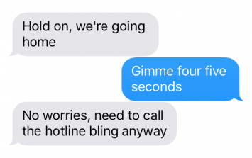 Leaked texts reveal the truth behind Drake and Rihanna's split
