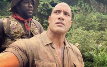 The Rock played an ace Halloween prank on Kevin Hart this weekend