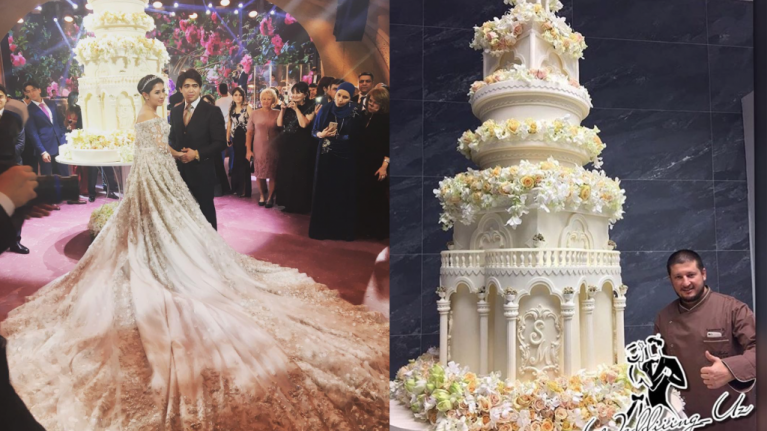 World most expensive wedding cakes
