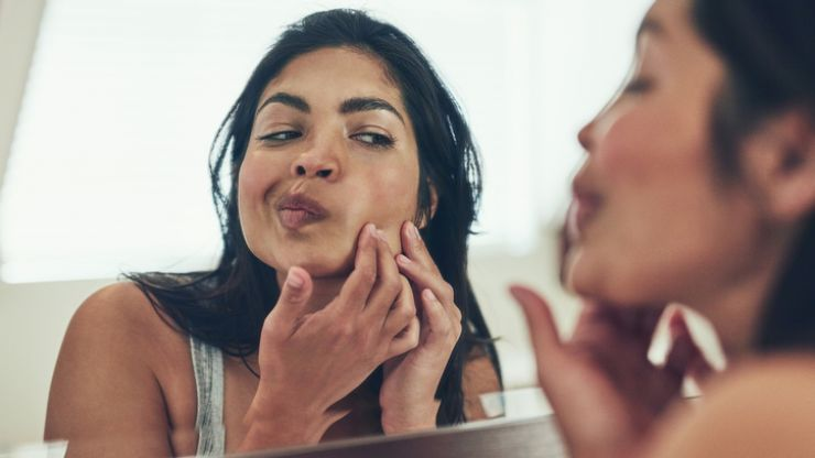 This expert tip is a gamechanger for concealing acne