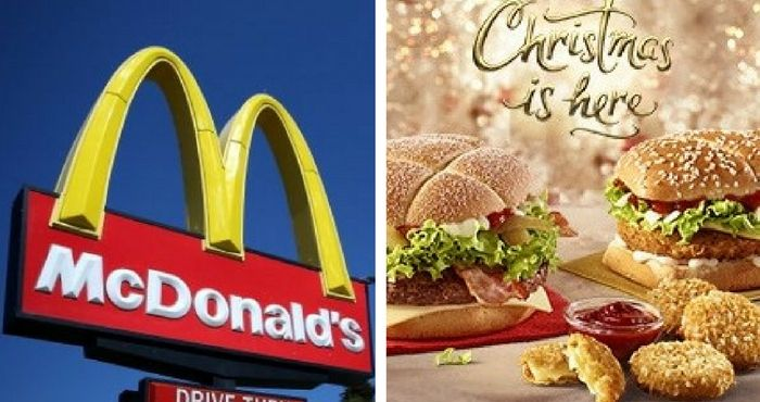 This is what's on the McDonald's Christmas menu this year | Her.ie