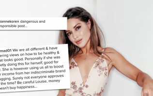 Everyone is pissed off at MIC's Louise Thompson for these comments about her body