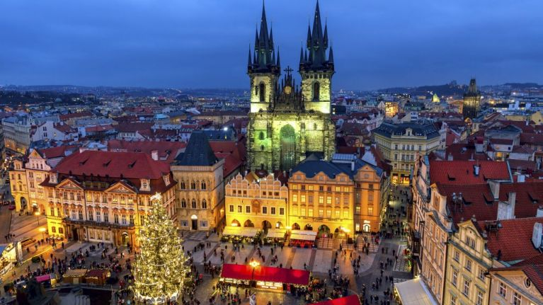 Prague Christmas Market.Closed Win A Trip For Two To The Prague Christmas Markets