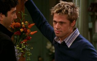 Did you spot this mistake on the Friends episode with Brad Pitt?