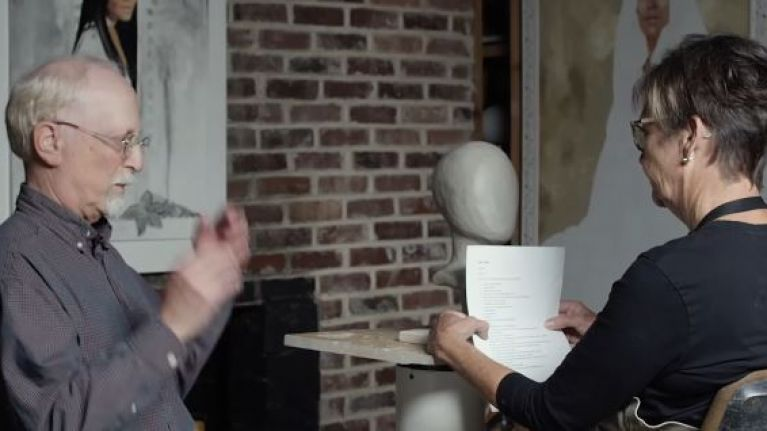 Blind People Describe Their Loved Ones To A Sculptor To Make Incredible Art