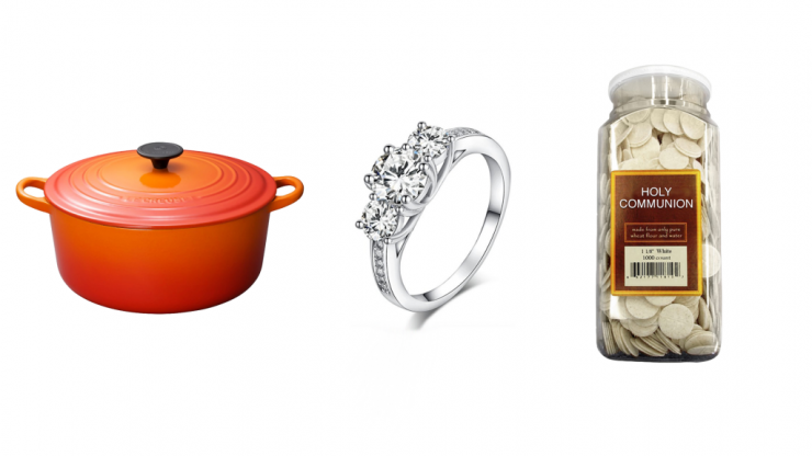 Can you guess the price of these items just by looking at them?