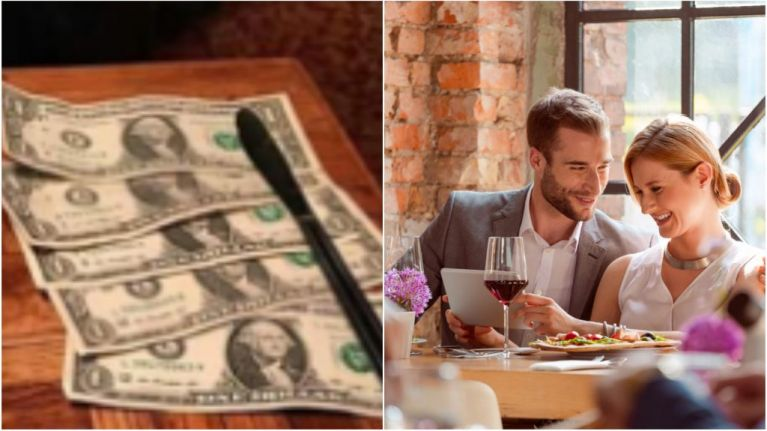 This couple's post about tipping in restaurants is going viral for all the wrong reasons