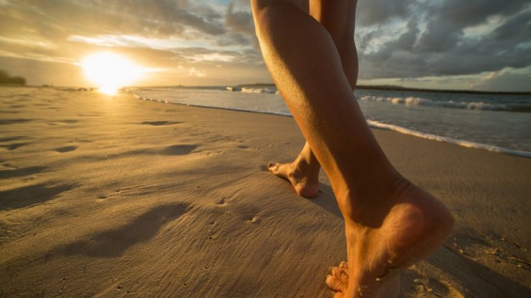 The sunshine is out and our feet STINK! Here's how to keep it fresh