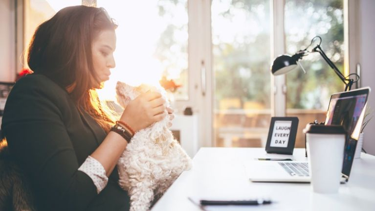 People who chat to their pets have this one thing in common