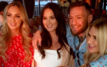 Conor McGregor and Dee Devlin's baby shower looks better than most weddings