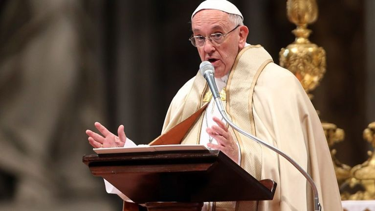 Pope uses Good Friday service to ask for forgiveness for Catholic Church scandals