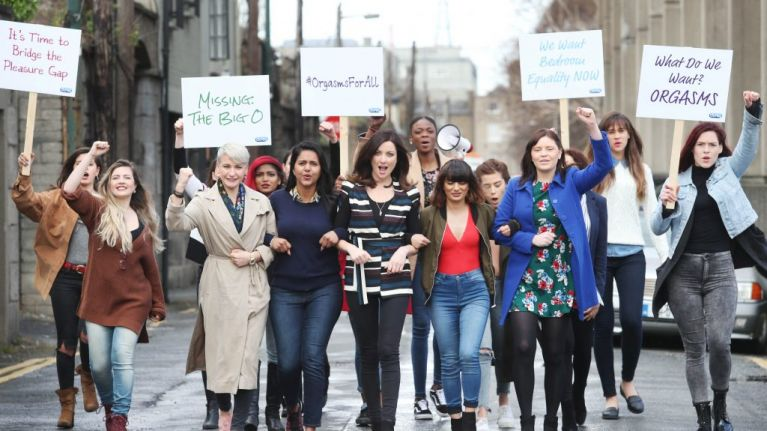 Women all over Ireland are demanding 'Orgasms for All' as part of online protest