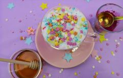 Cutting back on caffeine? This beetroot unicorn latte is for you