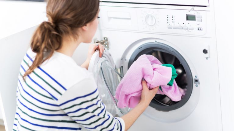 We found the perfect laundry hack that'll help you get grease stains off clothes